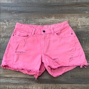 Noisy May cute pink shorts